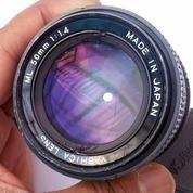 Lensa Manual Yashica 50mm F1.4 CY