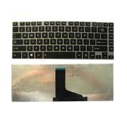 Keyboard Toshiba Satellite C800 L845 DOFF BLACK (FRAME)
