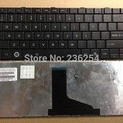 Keyboard Toshiba Satellite C800 L845 DOFF BLACK