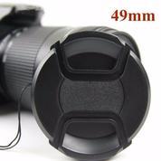 Lens Cap Canon / Nikon / Sony / Fuji [Universal] 49mm