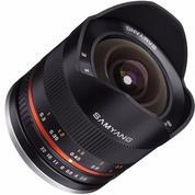 Lensa Samyang 8mm F/2.8 Fisheye II For Sony E Mount E-Mount NEX