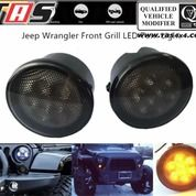 JEEP WRANGLER FRONT GRILL LED TURN LIGHT TAS4X4
