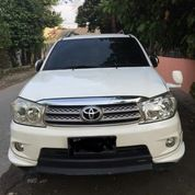 Mobil Fortuner 2011 Solar Type G Manual