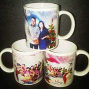 Mug Souvenir Murah Natal Dan Tahun Baru Model Mug Standar