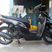 Honda Beat Pop 2016 Black