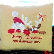 Bantal Natal Christmas Souvenir