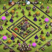Clash Of Clans Town Hall 9 Max