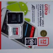Sd Card Micro Sd Sandisk A1 Class 10 Speed Up To 98mb/S Original