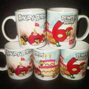 Mug Souvenir Ultah - Mug Ulang Tahun Model Mug Standar