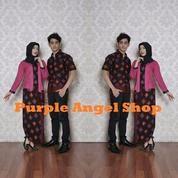 Couple Setelan Rok N Blouse Kebaya Kutubaru Batik DIAMOND RINA