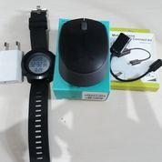 Mouse Wireless Logitech M170 Bonus Jam,Charger Dan Kabel OTG