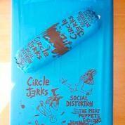 Sprei Konser Punk Rock Custom Design