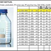 Botol Glass Laboratorium 10ml Schott Duran