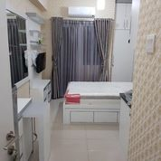 Tipe Studio Full Furnish Tower Baru Apartemen Green Pramuka City