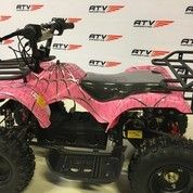 ATV 800W Electric Pink Spider