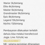 Akun Mobile Legend / Jasa Joki Mobile Legend Iphone/Android