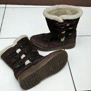 Sepatu Boot Anak Coklat Uk 33