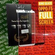 Tempered Glass Oppo F5 Full Screen Full Layar Full Cover
