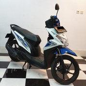 Honda Beat CW Putih Biru 2016