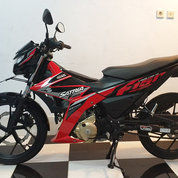 Suzuki Satria F150 Th 2017 Injection Merah Hitam