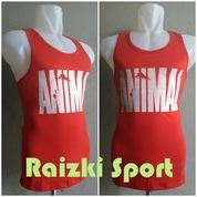 Kaos Singlet Cotton Berlogo ANIMAL