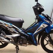 Honda Supra X 125 Tahun 2015 Blue Methalic