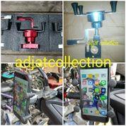 Holder HP/GPS Universal Di Stang Dan Spion NMAX, XMAX, Aerox Vario, Beat Vixion Dll Full CNC