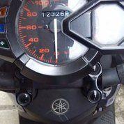 Sepeda Motor Yamaha X Ride 2014 Warna Biru Gress