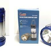 Lampu Darurat Emergency Lentera USB + Tenaga Matahari 9598