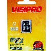 Micro Sd 8gb Class10 Visipro Original 100%