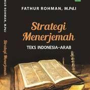 Buku Strategi Menterjemah Tek Indonesia Arab