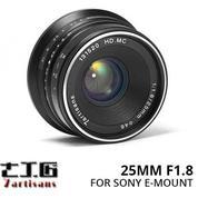 Lensa 7ARTISANS 25MM F1.8 FOR Mirrorless SONY E-MOUNT