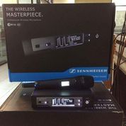 Mic Werless Sennheiser Ew135g4 New Uhf 1 Mic Digital Freq Suara Mantal