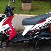 Yamaha X Ride Putih Merah Tahun 2016
