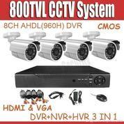 Paket CCTV 8 Channel Full HD/2MP