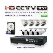 Paket CCTV 4CH Hikvision Turbo HD 2MP 1080P ORI Resmi
