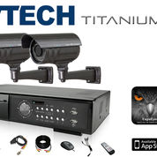Nathans CCTV Paket 4 Channel Wireless HD 1.0MP Bullet