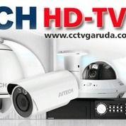 Paket Cctv Hikvision HD 1080p 2 Mega Pixel ( 4 Channel ) Komplit Tinggal Pasang