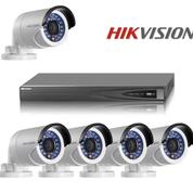 Paket CCTV Ekonomis 4CH Indoor AHD 1.0MP 720P