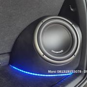 Box Subwoofer Fortuner VRZ Custom Fiber Hasil Suara Bass Sangat Bulat Dan Full Power