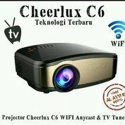 Proyektor Mini Cheerlux C6 Wifi Buldin Tv Siap Nobar Area Sby Dan Sda Bisa Cod