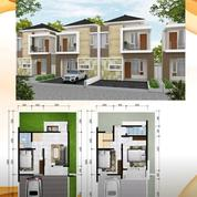 Rumah 2lt DP Ringan, Bonus Kitchen Set, Electric Gate,Dkt RS Hermina