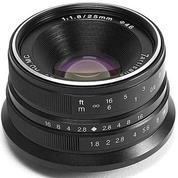 Lensa 7ARTISANS 25MM F1.8 FOR Mirrorless FUJIFILM X Mount Series