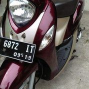 Yamaha Fino Tahun 2014 Merah Maroon