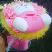 Bunga Buket Hello Kitty