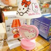 Lampu Tidur Tudung Hello Kitty + Photo Frame Love.