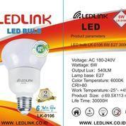 LEDLINK LED BULB 6 Watt 6000K