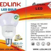 LEDLINK LED BULB 15 Watt 6000K