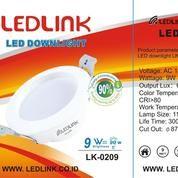 LEDLINK LED DOWNLIGHT 9 Watt 3000K