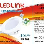 LEDLINK LED DOWNLIGHT 9 Watt 6000K